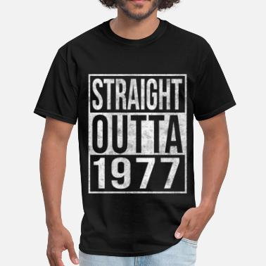 Straight-outta Straight Outta 1977 40th Birthday - Men's T-Shirt