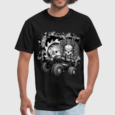 Metallic Monster Truck - Men's T-Shirt