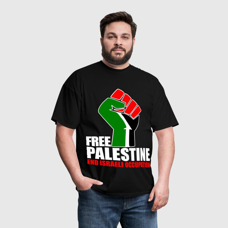 Free Palestine end Israeli Occupation - Men's T-Shirt