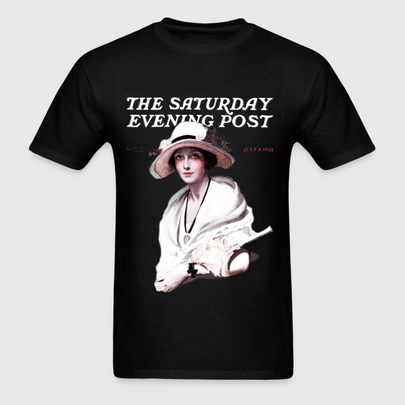 Saturday Evening Post 1922 - Men's T-Shirt
