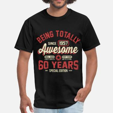 60 Years 60 Years Of Being Awesome - Men's T-Shirt