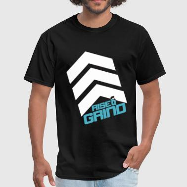 (419Grind) Rise & Grind Dark Tee - Men's T-Shirt