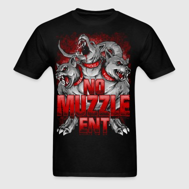 No Muzzle Cerberus - Men's T-Shirt