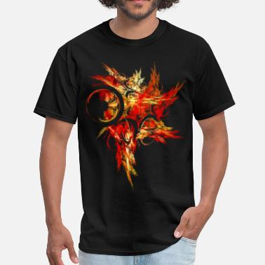 Red Phoenix phoenix - Men's T-Shirt