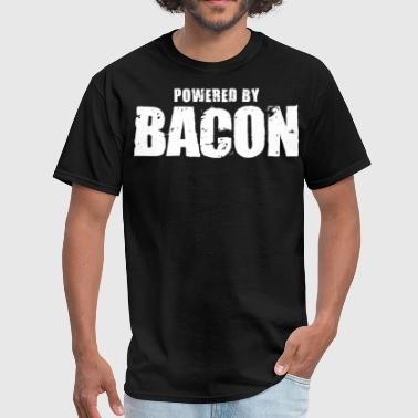 Powered by Bacon - Men's T-Shirt