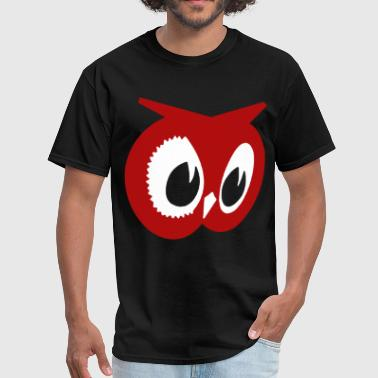 Red Owl Hanes Tagless Tee owl - Men's T-Shirt