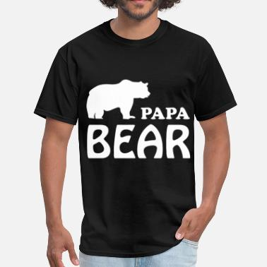 PAPA BEAR MENS FUNNY DAD FATHERS DAY GIFT PRESENT - Men's T-Shirt