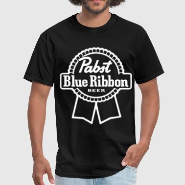 Pabst Blue Ribbon Beer Pabst Blue Ribbon Milwaukee Beer Party Drink disne - Men's T-Shirt