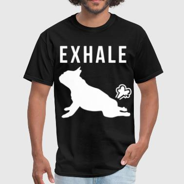 Offensive Military exhale offensive t shirts - Men's T-Shirt