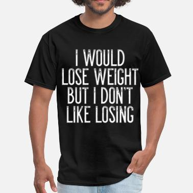 Pauline Hanson i would lose weight but i dont like losing grandfa - Men's T-Shirt