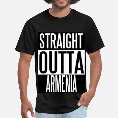 Armenia Straight Outta ARMENIA - Men's T-Shirt
