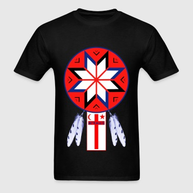 Tripartite Forum Symbol FLAG - Men's T-Shirt