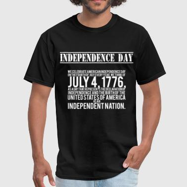Revolutionary War american independence day - Men's T-Shirt