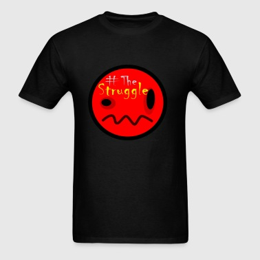 The Struggle logo red.png - Men's T-Shirt