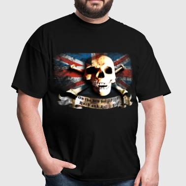 skull_and_flag_072013_gb_a - Men's T-Shirt