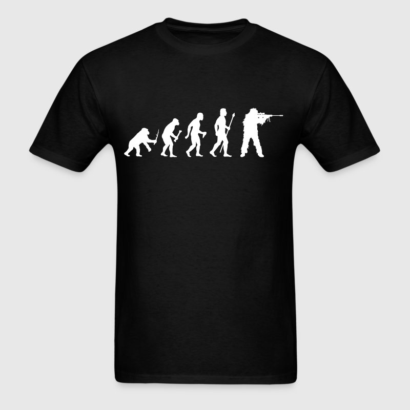 Sniper Evolution - Men's T-Shirt