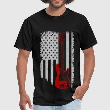 Bass Guitar Girl Bass guitar - American Bass guitar lover - Men's T-Shirt