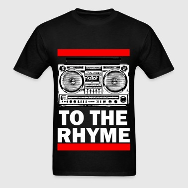 TO THE RHYME 1a - Men's T-Shirt