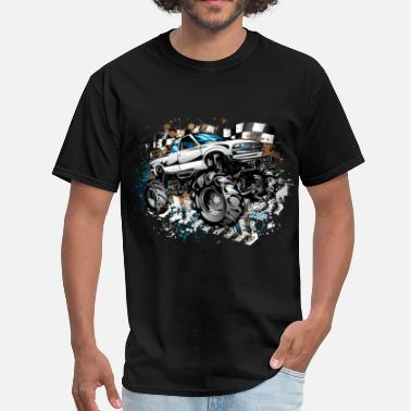 Race Truck Mud Truck Race Shirt - Men's T-Shirt
