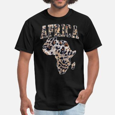 African Animals African animal skin - Men's T-Shirt