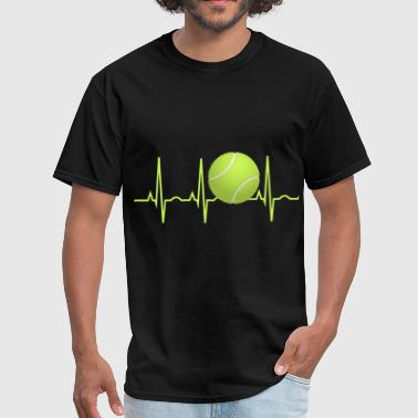 Tennis Heartbeat tennis heartbeat tennis - Men's T-Shirt