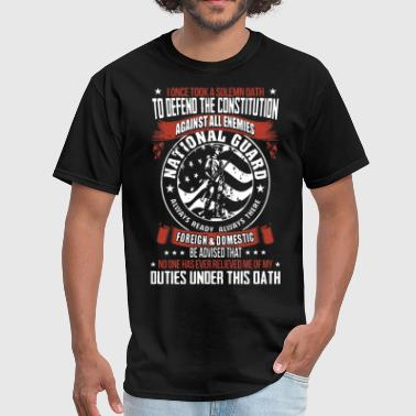 Solemn Oath i once took a solemn oath to defend the constituti - Men's T-Shirt