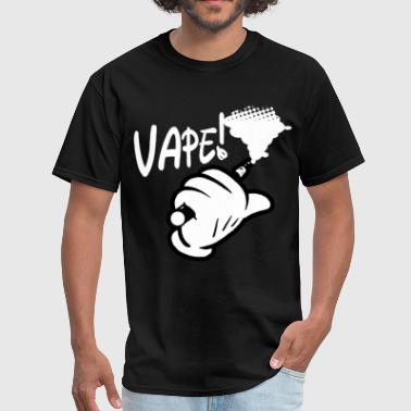 Vape Mickey Mouse Hands Drip Coil Juice Smoke vape - Men's T-Shirt