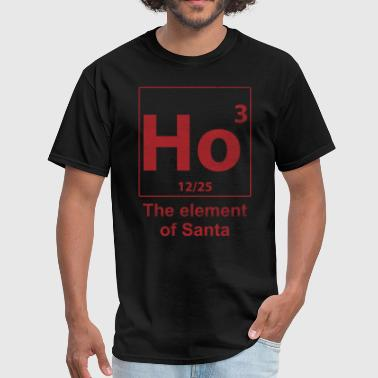 ho3 the element of santa - Men's T-Shirt