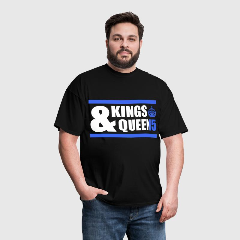 Class of 15 - Kings & Queens (blue with bands) - Men's T-Shirt