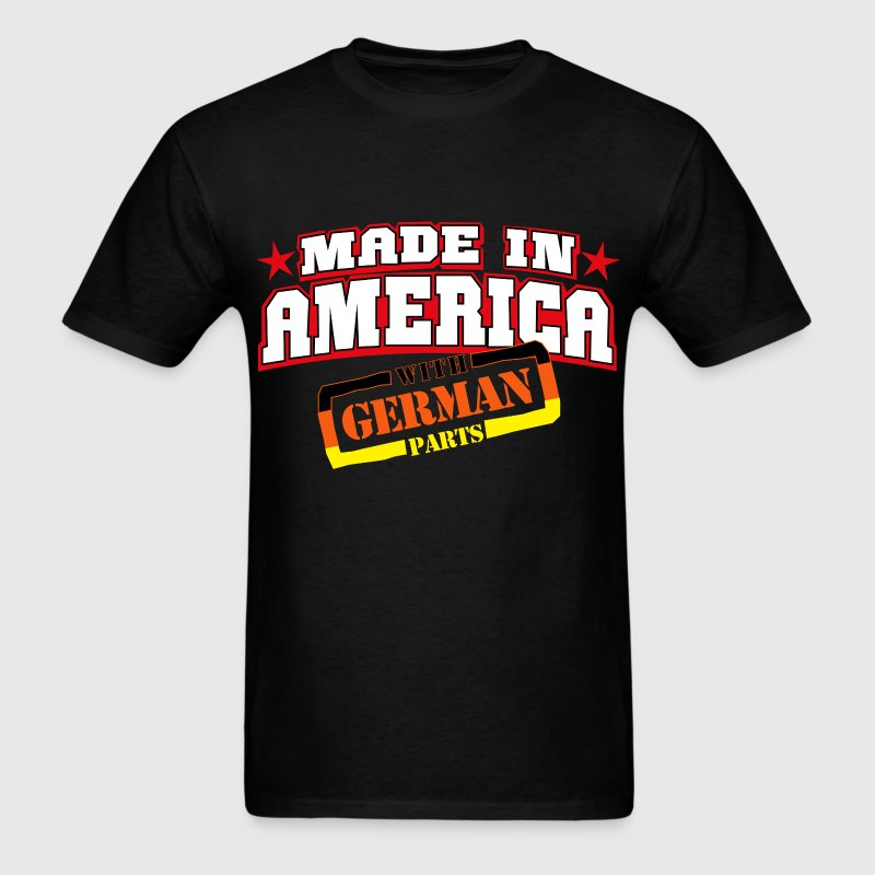 made_in_america__german Parts - Men's T-Shirt