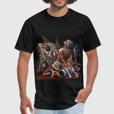 pre hispanic torture mach - Men's T-Shirt