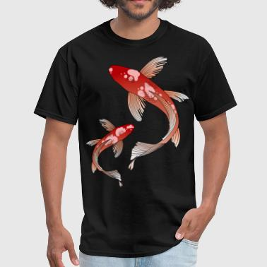 koi fish - Men's T-Shirt