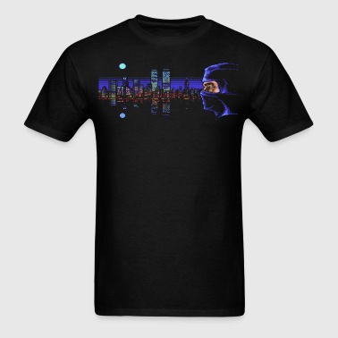 Last Ninja Manhattan - Men's T-Shirt