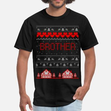 31st Dec Brother Ugly Christmas Sweater - Men's T-Shirt
