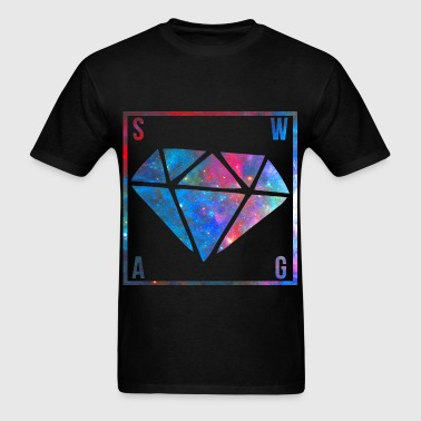SWAG Diamond Galaxy - Men's T-Shirt