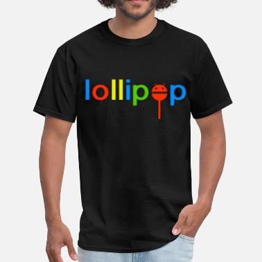 Android Logo Nerd Android Lollipop - Men's T-Shirt