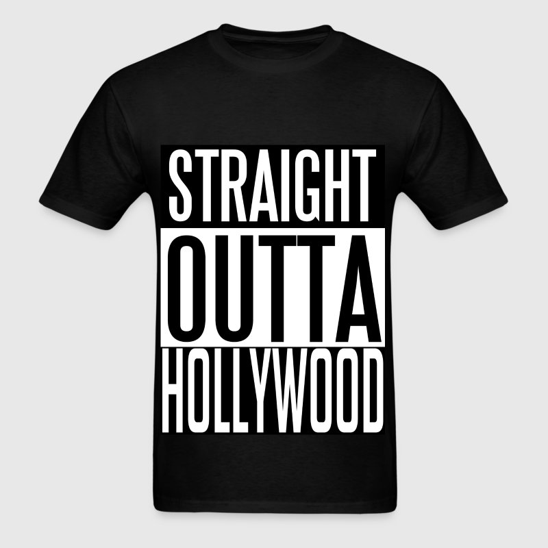Straight Outta Hollywood - Men's T-Shirt