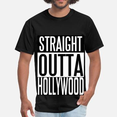 Straight Outta Inglewood Straight Outta Hollywood - Men's T-Shirt
