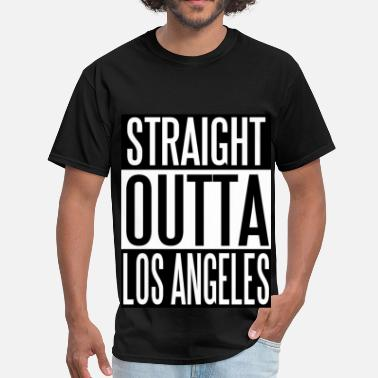 Straight Outta Inglewood Straight Outta LOS ANGELES - Men's T-Shirt