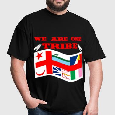 WE ARE ONE TRIBE WAVE - Men's T-Shirt