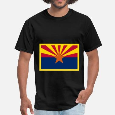 Arizona Flag Arizona Flag - Men's T-Shirt