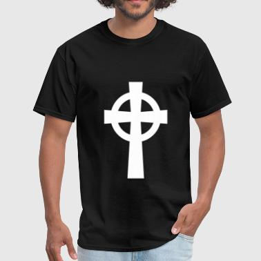 Celtic Catholic Symbol - Men's T-Shirt