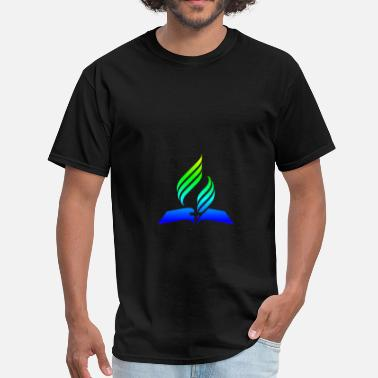 Seventh Day Adventist Christian Rainbow 7th Day Adventist.png - Men's T-Shirt