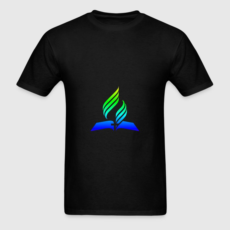 Rainbow 7th Day Adventist.png - Men's T-Shirt