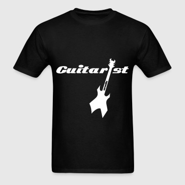 Guitarist e-Guitar white - Men's T-Shirt
