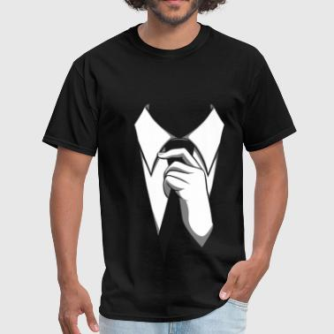 Mr Black Tie - Men's T-Shirt
