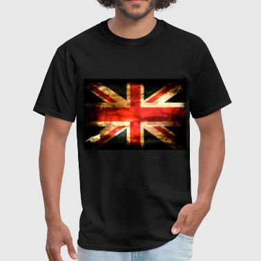 United Kingdom Flag- - Men's T-Shirt