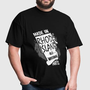 Rhode Island - Made In Rhode Island - Men's T-Shirt