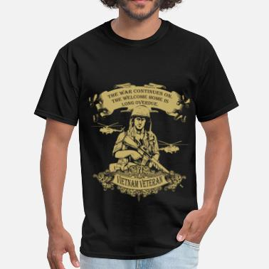 Overdue Veterans - Vietnam - Men's T-Shirt