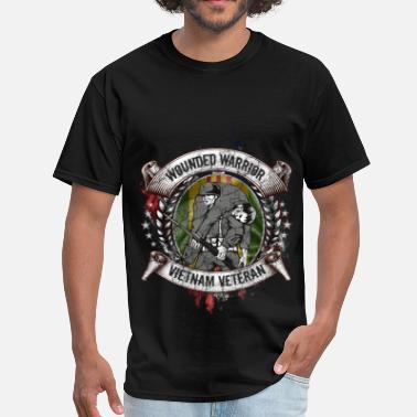 Wounded Veterans - Wounded - Men's T-Shirt
